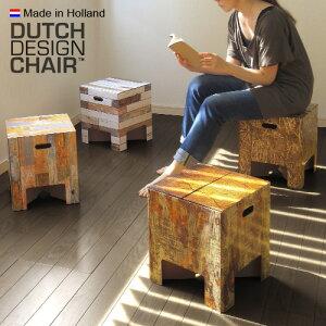 驚きの強度★簡単にスツール&テーブルに! Dutch chair スツール テーブル チェア 折りたたみ ...