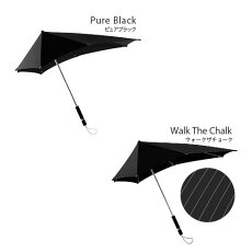 SENZUmbrellasセンズアンブレラXLブラックSZ-003BK送料無料雨傘日傘晴雨兼用強風に負けない傘デザイン