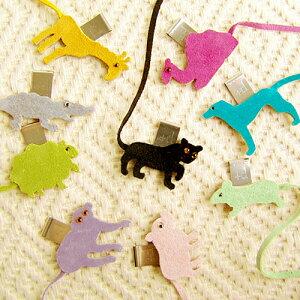 【メール便OK】Animal bookmark 《D-130》アニマル ブック マーク ◇