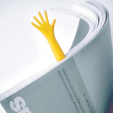 しおり ブックマーカー ブックマーク  メール便OKプロパガンダ ヘルプ Propaganda HELP! [4色セット]ギフト プレゼント 本 読書 かわいい 面白雑貨