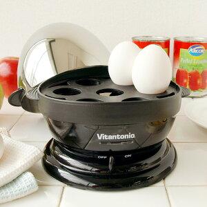 送料無料 Vitantonio ビタントニオ エッグボイラー 半熟ゆでたまご・ポーチドエッグをお手軽に...