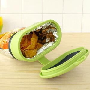 袋がそのまま保存容器に! コプコ BAGCAP バッグ キャップ ワイド 保存 クリップ 食品 フタ キ...