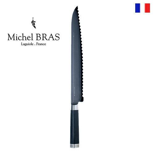 包丁・ナイフ, パン切り包丁  Michel BRAS No.9 BK-0017 285mm KAI smtb-F plywood