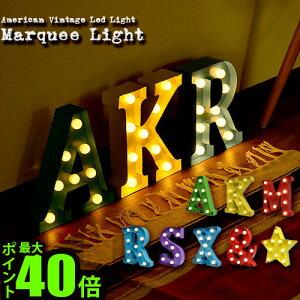 米国ホテルや劇場の電光掲示板がモチーフのブリキ製LEDライト★LED 卓上 壁掛け ライト ランプ ...
