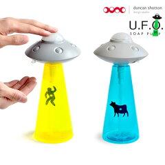 UFOがお家に襲来!ユニークデザインの円盤型ソープポンプ★Duncan Shotton ソープ 石鹸 お洒落 ...