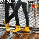 \MAX37.5倍/長靴 レインブーツ レディース メンズ おしゃれ 送料無料 【あす楽14時まで】Subtle Mr.Rain RAINBOOTSミスターレイン レインブーツショート 防水 ウォータープルーフ 雨靴 ファッション 1