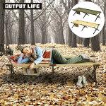コットキャンプベッドアウトドアベンチアルミ送料無料アウトプットライフイージーコットOUTPUTLIFEEASYCOT折り畳みベッド椅子チェア