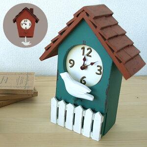 【送料無料】 La Luz ラ・ルース BIRD HOUSE CLOCK バードハウスクロック…