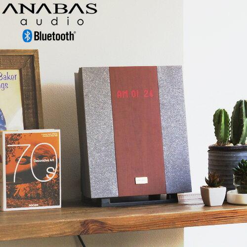 オーディオ, スピーカー  bluetooth ANABAS CD CLOCK RADIO SYSTEM AA-00214 USB cd