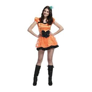 ハロウィンは、やっぱりオレンジ色でしょ!魔女以外を目指すなら、女の子らしいプリンセスパン...