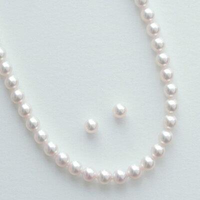 アコヤ真珠ネックレスセットとイヤリングピアス
