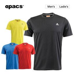 APACS バドミントンウェア テニスウェア バドミントン ウェア テニス Tシャツ 半袖 メンズ レディース RN-303