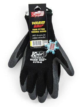 【ポイント2倍!エントリーで6倍 〜11/10限定】 ワークグローブ Kinco Gloves(キンコグローブ) Warm Grip Thermal Lined 1790S/M/L