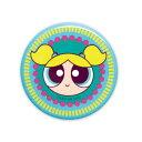 パワーパフガールズ 缶バッジ(SHE'S CRAFTY バブルス)PG-CB011 The Powerpuff Girls