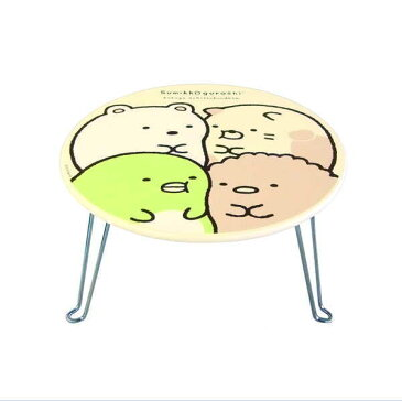 すみっコぐらし ミニテーブル SG3000 Sumikkogurashi[テーブル 折りたたみ キャラクター かわいい 一人暮らし 一人 ミニ 木製]