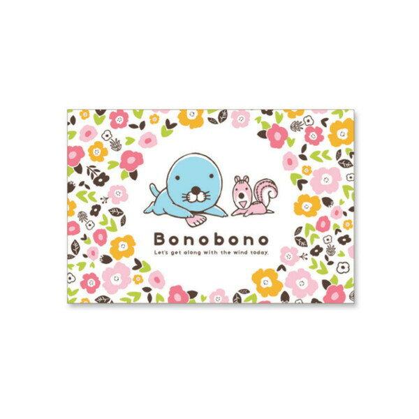 ぼのぼの ポストカード(フラワー)BO-PT103 bonobono画像