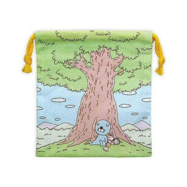 ぼのぼの 巾着(ぼのぼの森)BO-KI023 bonobono画像