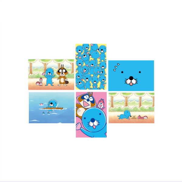 ぼのぼの ポストカード BO-PT bonobono画像