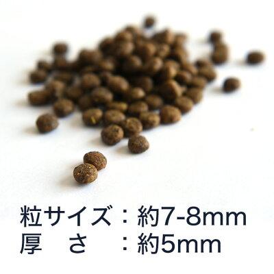 POCHIザ・ドッグフード3種のポルトリー粒サイズ