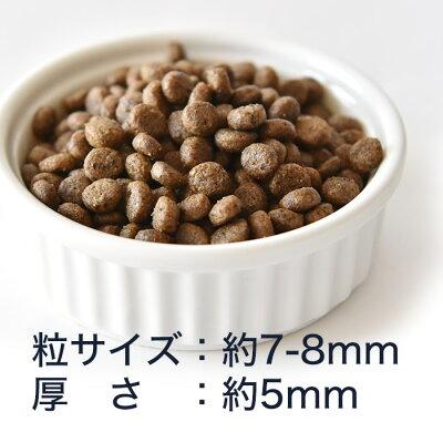 POCHIザ・ドッグフードワイルドサーモン粒サイズ