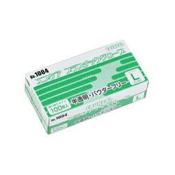 エブノ エブケアプラスチックグローブ Mサイズ 1箱(100枚) 手袋 パウダーフリー ラテックスフリー