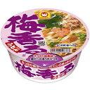 6月28日発売★4ケースまで送料同じ東洋水産 マルちゃん75g梅香るうどん12食入 【sybp】【w4】