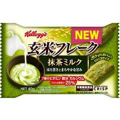 9月発売★【20%OFF】ケロッグ玄米フレーククリスプ 抹茶ミルク40g×6袋入【2P_1221】