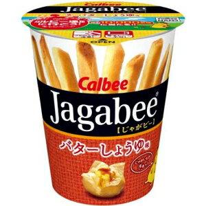 お買い得市開催中!カルビー40gJagabee(じゃがビー) バターしょうゆ味12カップ入 [ジャガビー]【...