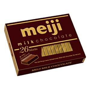 お買い得市開催中★明治ミルクチョコレートBOX(26枚入)×6箱入【お買い物マラソン】