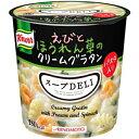 クーポン配布中★味の素 クノール スープDELIエビとほうれん草のクリームグラタン46.2g×6個入 (スープデリ) その1