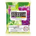 マンナンライフ蒟蒻畑 ぶどう味25g×12個入×12袋(葡萄 グレープ こんにゃくゼリー)