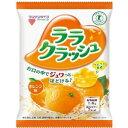 マンナンライフ蒟蒻畑ララクラッシュ オレンジ味24g×8個入×12袋【特定保健用食品】(こんにゃくゼリー)
