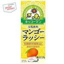 キッコーマン飲料豆乳飲料 マンゴーラッシー200ml紙パック 18本入...
