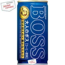 全品最低でもP6倍★3月発売★4ケースまで送料同じサントリーBOSSボス 大人のボス185g缶 30本...