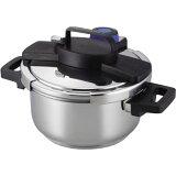 圧力鍋 使いやすい 4l 圧力鍋 IH対応 おしゃれ 圧力鍋 4リットル