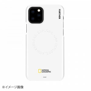 National Geographic iPhone 11 Pro Explore Further Edition Carved Stamp Case ホワイト NG17128i58R