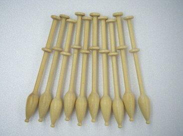 木製ボビン ボビンレース ボビン ボビンレース用ボビン ボビンレース 道具