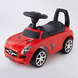 (ベビー足けり 乗用玩具 自動車) メルセデスベンツSLS AMG レッド