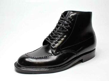 【LIMITED-EDITION FOR ALDEN SHOES NY】#40509・Indy Boot Black Shell Cordovan・インディブーツ・コードヴァン/ブラック/US6.5D (オールデン・ニューヨークストア限定レアアイテム・トゥルーバランスラスト・国内未展開)