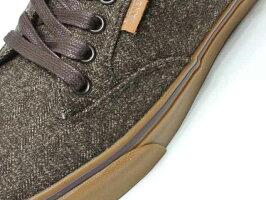 【Vans】WINSTONDELUXEdeluxetextile/ウィンストンデラックス・brown/gum(オーソライトインソール!リミテッドエディション)