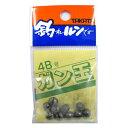 釣具のポイント東日本 楽天市場店で買える「タカタ ガン玉P 4B(東日本店」の画像です。価格は60円になります。