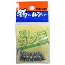 釣具のポイント東日本 楽天市場店で買える「タカタ ガン玉P 2B(東日本店」の画像です。価格は60円になります。