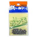 釣具のポイント東日本 楽天市場店で買える「タカタ ガン玉P 1号(東日本店」の画像です。価格は60円になります。