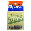 釣具のポイント東日本 楽天市場店で買える「タカタ ガン玉P 4号(東日本店」の画像です。価格は60円になります。
