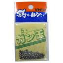釣具のポイント東日本 楽天市場店で買える「タカタ ガン玉P 5号(東日本店」の画像です。価格は60円になります。