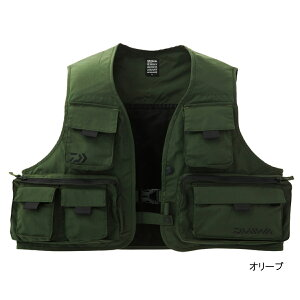 ダイワ フィッシングベスト DV-3408 XL オリーブ(東日本店)