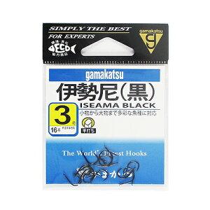 がまかつ(Gamakatsu) 伊勢尼 3号 黒