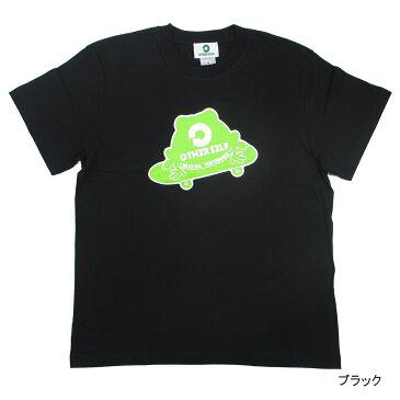 コラボTシャツ Bタイプ(スケボー) XL ブラック