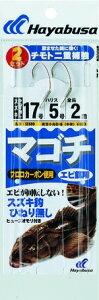 ハヤブサ(HAYABUSA) SE690 17ー5号 マゴチ エビ餌用 (SE690-17-5)【釣具のポイント】