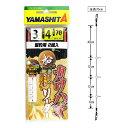 ヤマリア カワハギリーダー 宙釣用 KHNL3TY 4号【ゆうパケット】